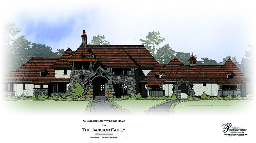 otb-02-Colored Rendering - Front Elevation